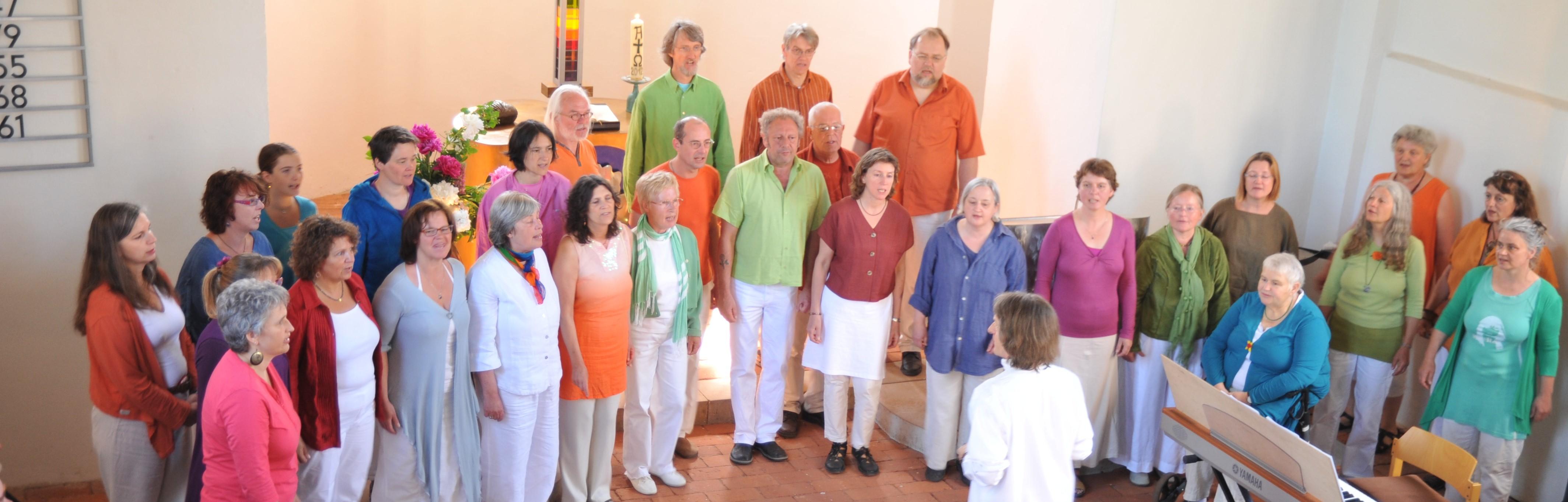 ClangVarben in der Friedenskirche