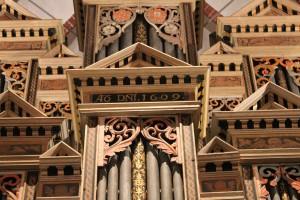 Orgel-Plate