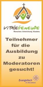 Moderatorenausbildung Flyer-Titel