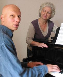 Achim Oerter und Maria Freund