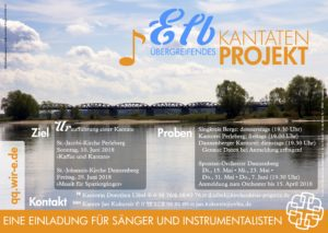 Musik für Spaziergänger: Elbübergreifendes Kantaten-Projekt @ St.-Johannis-Kirche Dannenberg | Dannenberg (Elbe) | Niedersachsen | Deutschland