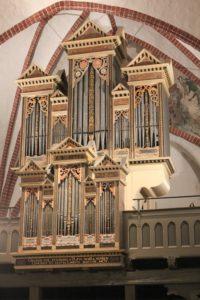 Orgel in Plate